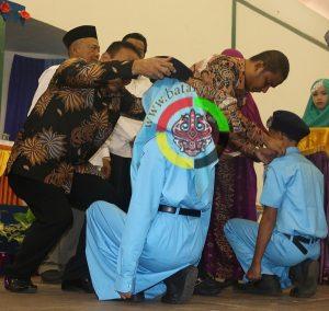 246 Siswa SMP Al-Muslimin Dikukuhkan Bupati