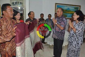Wakasad TNI AD Silaturahmi Dengan Bupati Tobasa