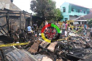 2 Pemilik Rumah Yang Terbakar di Sibolga Warga Tarutung