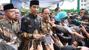 Kunjungan Kerja Presiden Jokowi Di Pekan Baru