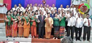 Anak Rantau Siborongborong Angkatan 87 Dukung Nikson Periode Kedua