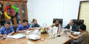 KPK dan Pemkab Tapteng Gelar Rapat Monitoring