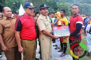 SMK Muhammadiyah 11 Sibulua Juara 1 Lomba Sepak Bola Antar Pelajar