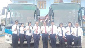 Hore.. Ada Bus Damri Gratis Samosir-Bandara Silangit Mulai 1 Oktober