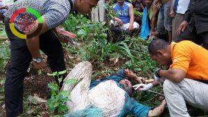 Pelaku Pembunuhan Bendahara Gereja Yang di Sitahuis Diduga Keponakan Korban
