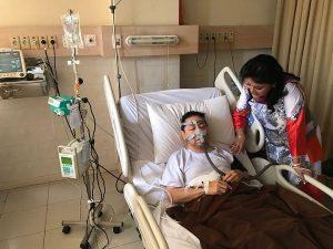 Foto Novanto Terbaring Sakit di RS Premier Jatinegara