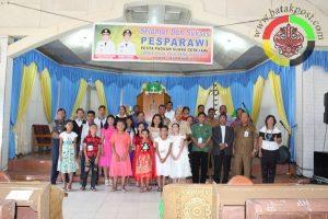 1 Septor Hadiah Tambahan Untuk Juara Pesparawi Dari Bupati