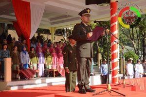 Danrem Pimpin Upacara Hari Kesaktian Pancasila di Sibolga
