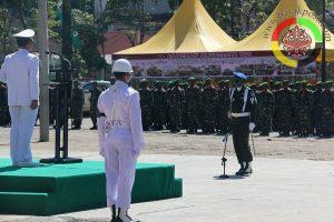 Danlanal Sibolga Pimpin HUT TNI ke 72