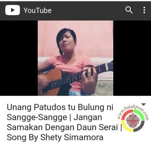 Lagu Unang Patudos tu Bulungni Sanggesangge Akhirnya Tercipta dan Beredar di Youtube